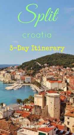 3-day Split Itinerary, Croatia, JetSettingFools.com