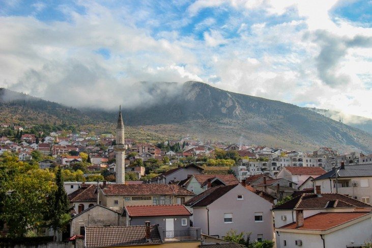 Views of Mostar, Bosnia and Herzegovina