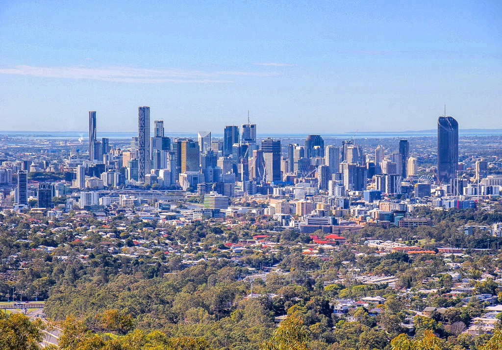Best view of Brisbane, Australia