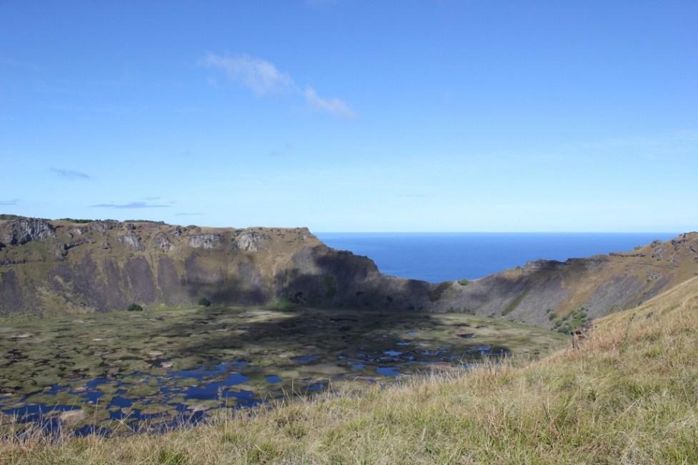 Easter Island Volcano Rano Kau, JetSettingFools.com