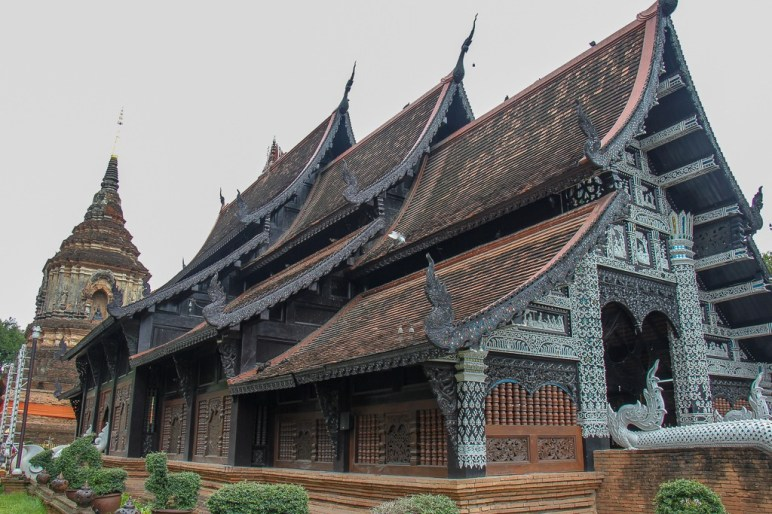 Lok Moli Temple and ancient chedi in Chiang Mai, Thailand