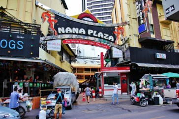(In)Famous Nana Plaza in Bangkok, Thailand