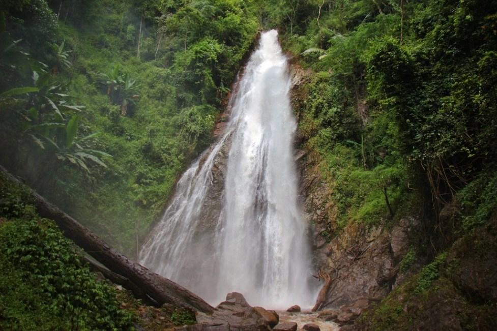 Khun Korn Waterfall in Chiang Rai, Thailand