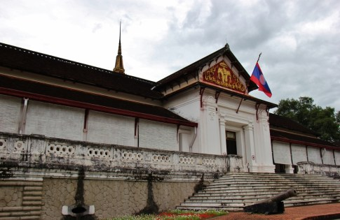 The Royal Palace National Museum in Luang Prabang, Laos