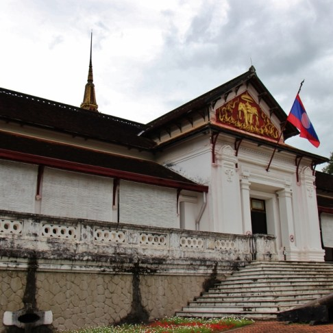 The Royal Palace National Museum in Luang Prabang, Laos