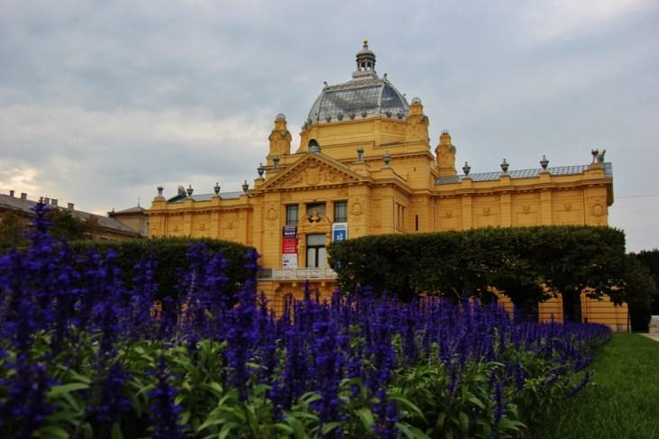 The Art Pavilion in Zagreb, Croatia