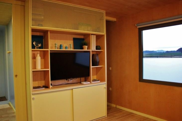 Living room in Big Berry Glamping Pod in Bela Krajina, Slovenia