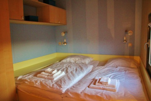 Bedroom in Glamping hut at Big Berry Resort in Bela Krajina, Slovenia