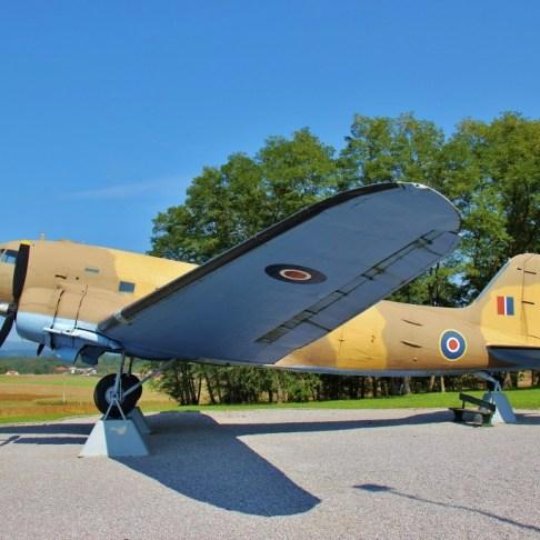 Douglas DC-3 War Plane in Bela Krajina, Slovenia