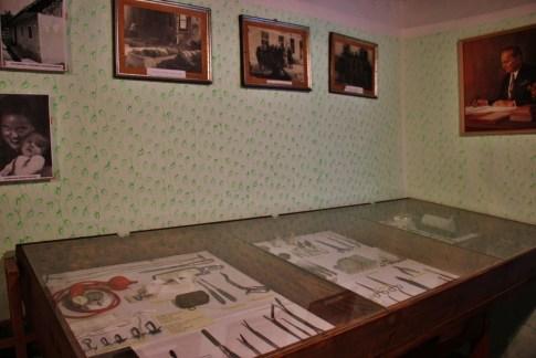 Display at Partisan Hospital Museum Topolovec at Sraif Bakery, Bela Krajina, Slovenia