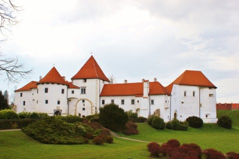 Castle in Varazdin, Croatia
