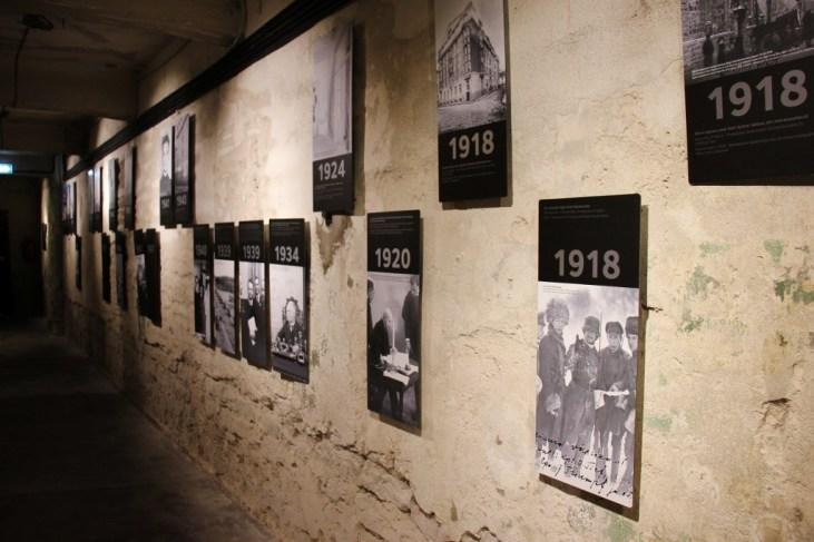 Timeline of events at KGB Prison Cells in Tallinn, Estonia