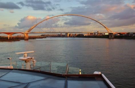 The New Bridge in Nijmegen, Netherlands