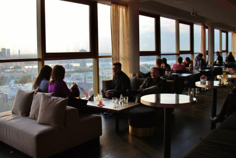 The 26th Floor Skyline Bar at Radisson Blue in Riga, Latvia