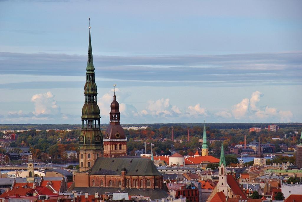 Skyline Of Riga Latvia Jetsetting Fools