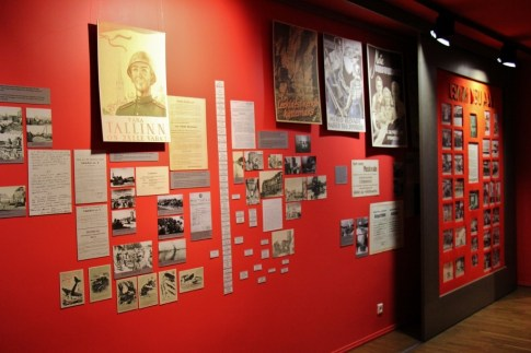 Soviet Occupation display at Tallinn City Museum in Tallinn, Estonia