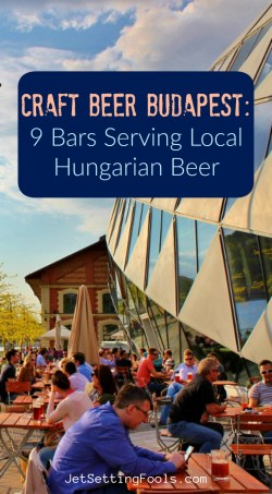 Craft Beer Budapest Bars Serving Local Hungarian Beer by JetSettingFools.com