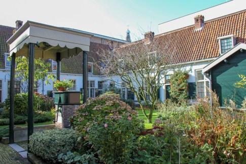Oldest Hofje in Netherlands, Bakenesserkamer in Haarlem, Netherlands