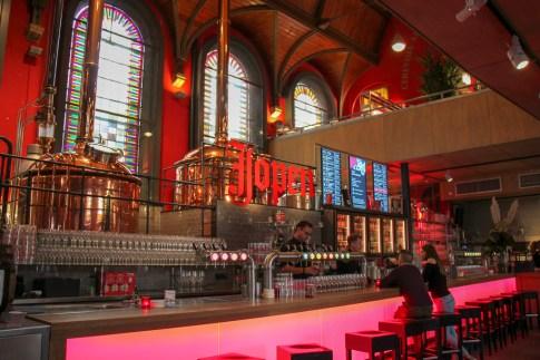Jopen Brewery, Jopenkerk, in city center Haarlem, Netherlands