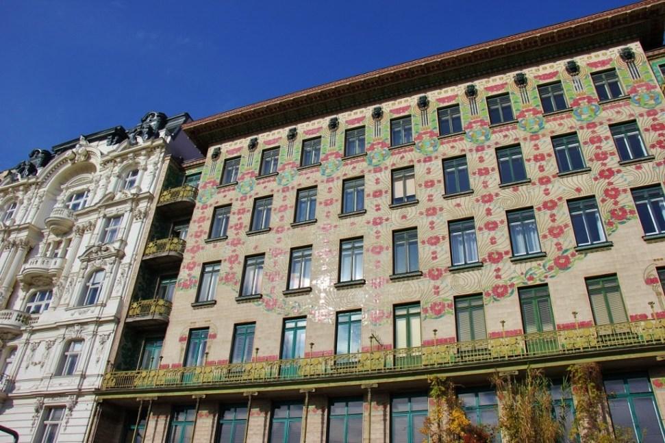 Art Nouveau Majolikahaus by Otta Wagner at 40 Linke Wienzeile in Vienna, Austria
