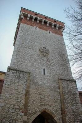 St. Florian's Gate in Krakow, Poland