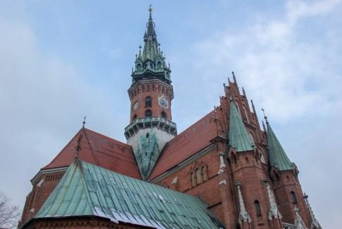 St. Joseph's Church on Podgorski Square in Krakow, Poland