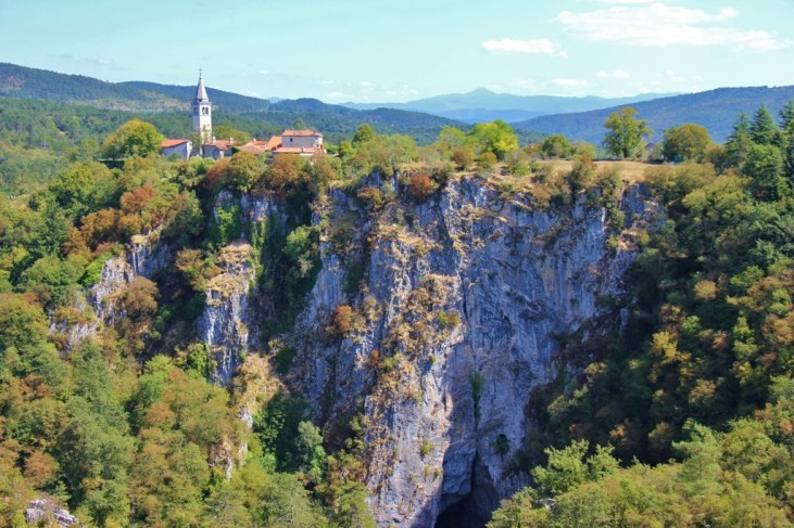 Stefanija Lookout at Skocjan Cave in Slovenia