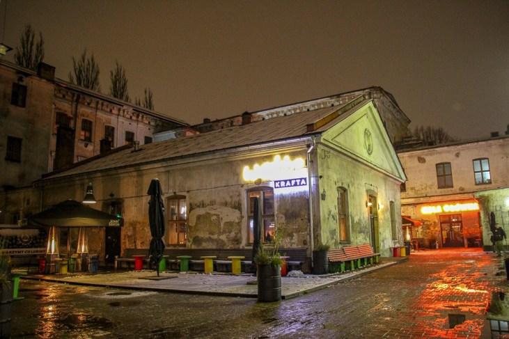 Wezze Krafta craft beer bar in Tytano District in Krakow, Poland