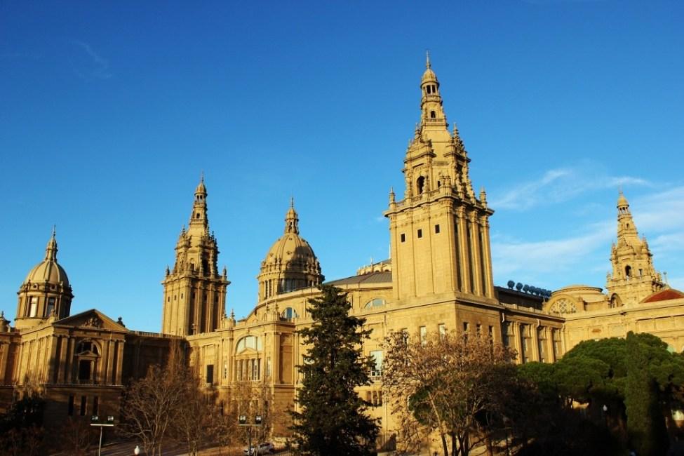Barcelona Art Museum in Spain