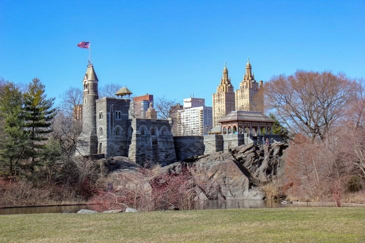 Belvedere Castle in Central Park in New York City, New York