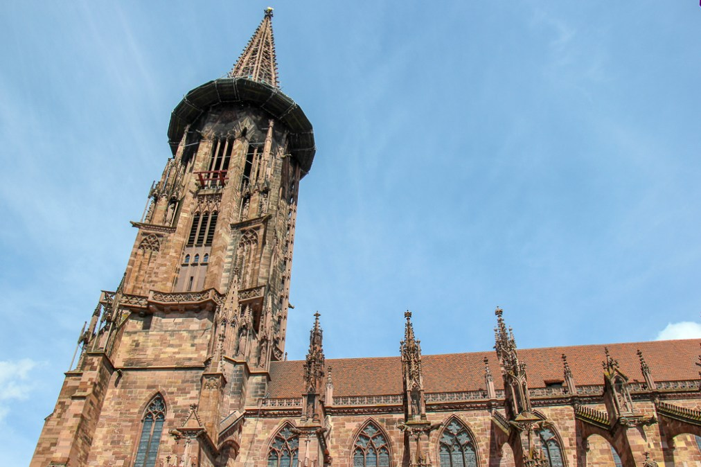 Freiburg Minster Cathedral in Freiburg, Germany
