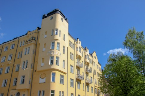 Viewing the unique Architecture in Helsinki, Finland