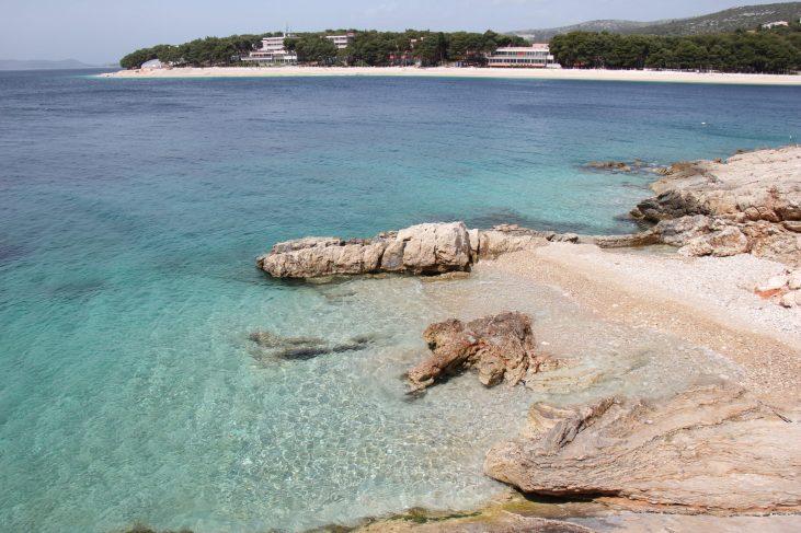Beaches at Primosten, Croatia