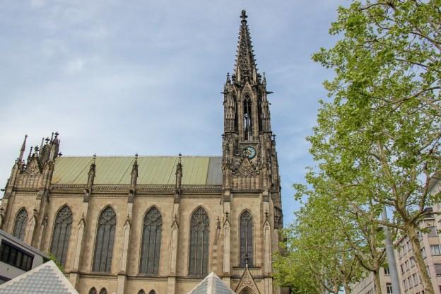 Open Church of Elisabeth, Offene Kirche Elisabethen, in Basel, Switzerland