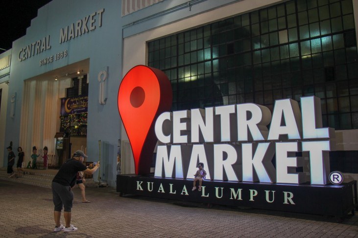 Historic Central Market in Kuala Lumpur, Malaysia