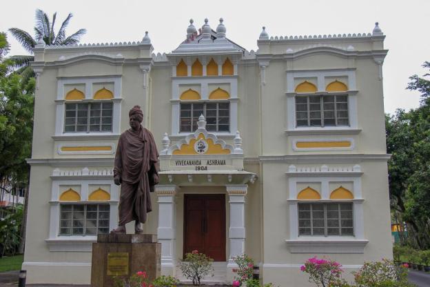 Historic Vivekananda Ashram building in Brickfields in Kuala Lumpur, Malaysia
