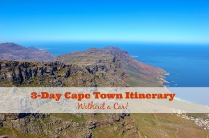 3-Day Cape Town Itinerary without a car by JetSettingFools.com