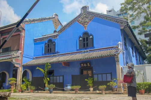 Historic Blue Mansion in Geroge Town, Penang, Malaysia