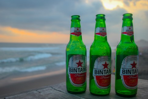 Bintangs On The Beach, Canggu, Bali, Indonesia