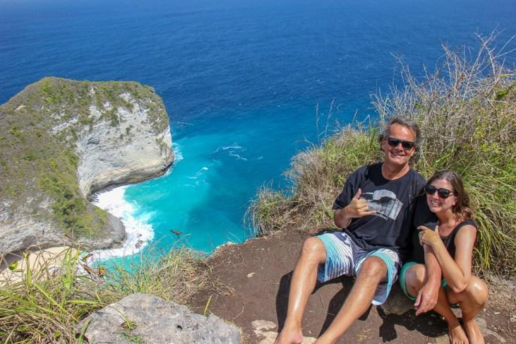 Kelingking Beach, Nusa Penida, Bali, Indonesia