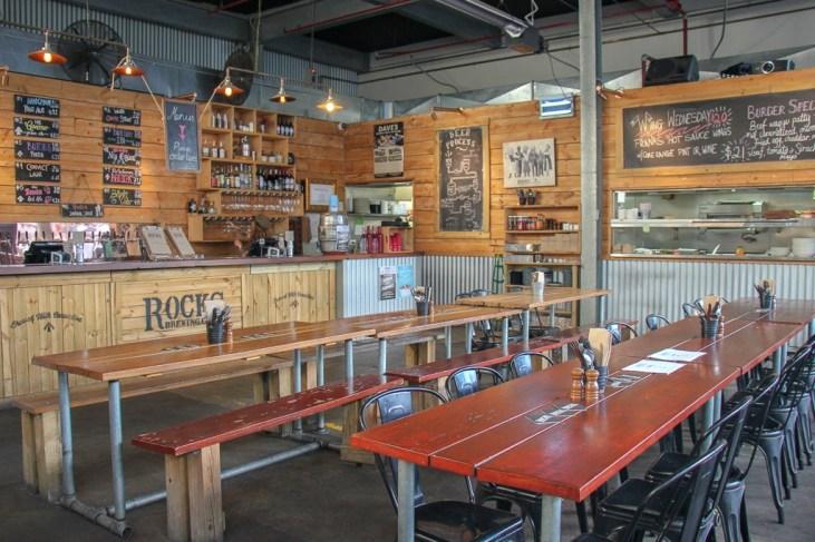 Taproom at Rocks Brewery in Alexandria, Sydney, Australia