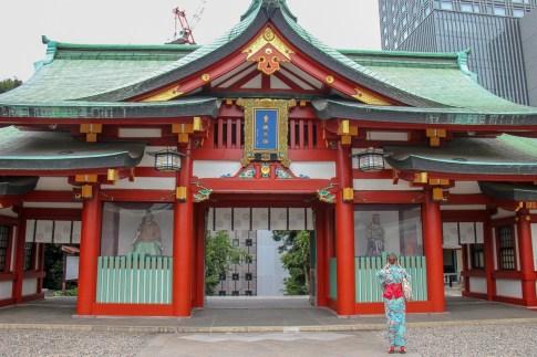 Hie Shrine in Tokyo, Japan