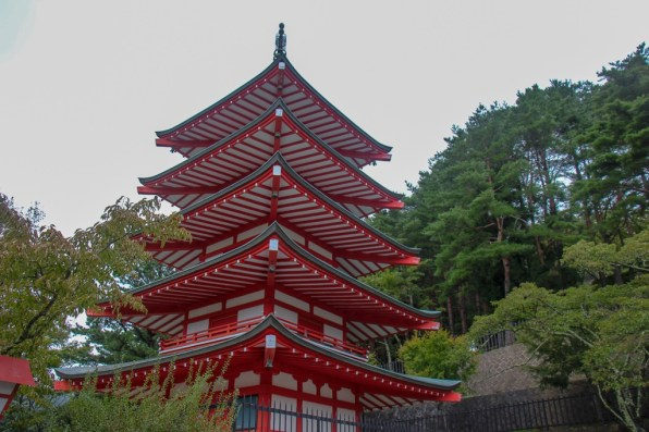 Chureito Pagoda near Kawaguchiko, Japan