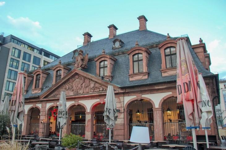 Historic Hauptwache Building in Frankfurt, Germany