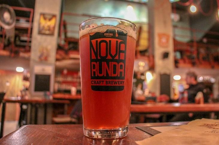 Pint of Nova Runda Craft Beer in Split, Croatia