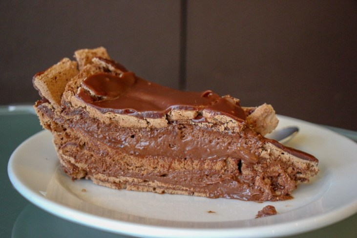 The most amazing chocolate cake ever, Lisbon, Portugal