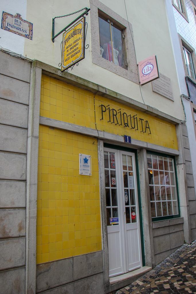 Historic Casa Piriquita pastry shop in Sintra, Portugal