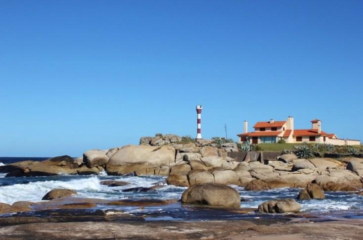 Faro Punta Palmar Lighthouse in Punta del Diablo, Uruguay