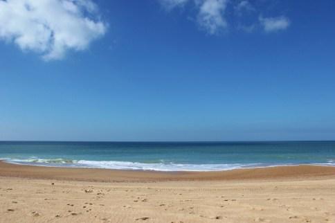 Beach in Punta del Diablo, Uruguay