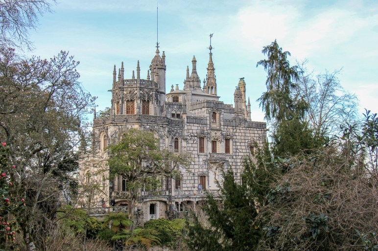 The Palace of Regaleira in Sintra, Portugal